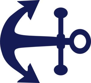 anchor clipart silhouette