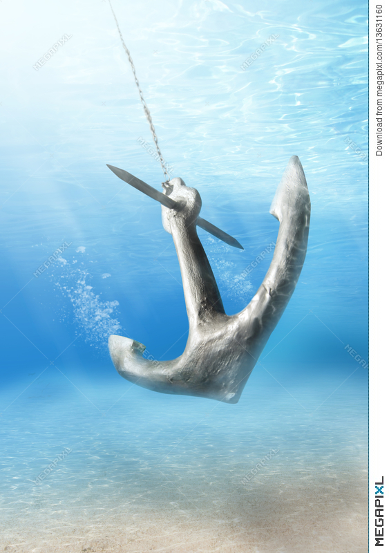 Stock photo megapixl. Anchor clipart underwater