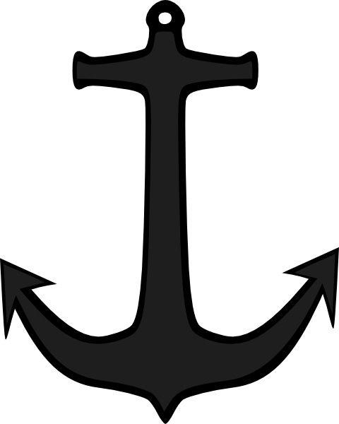 Anchor clipart vector. Simple clip art free