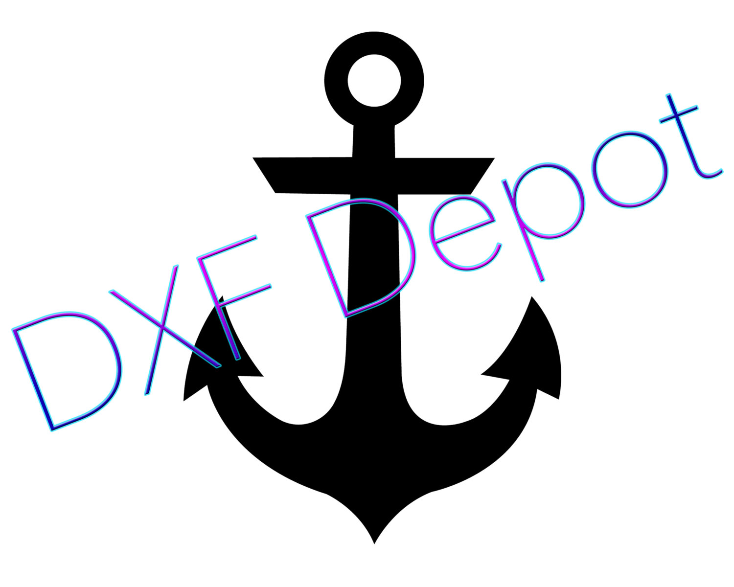 Dxf art clip png. Anchor clipart vector
