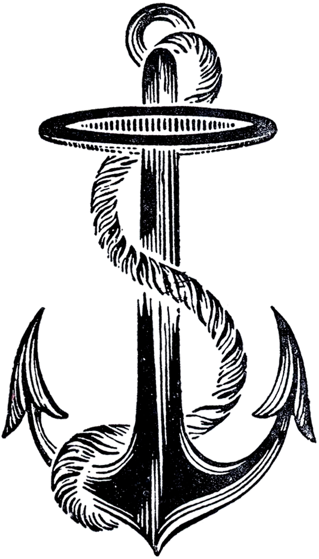 Anchor clipart vintage. Best image the graphics