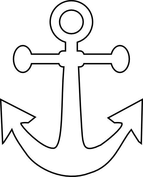 Anchor vector png. White clip art at