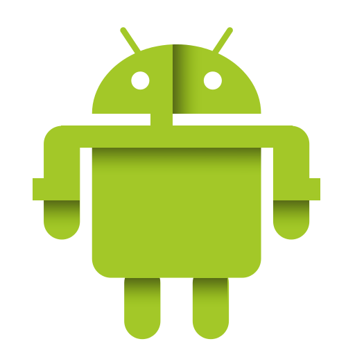 Social papercut by ploup. Android icon png