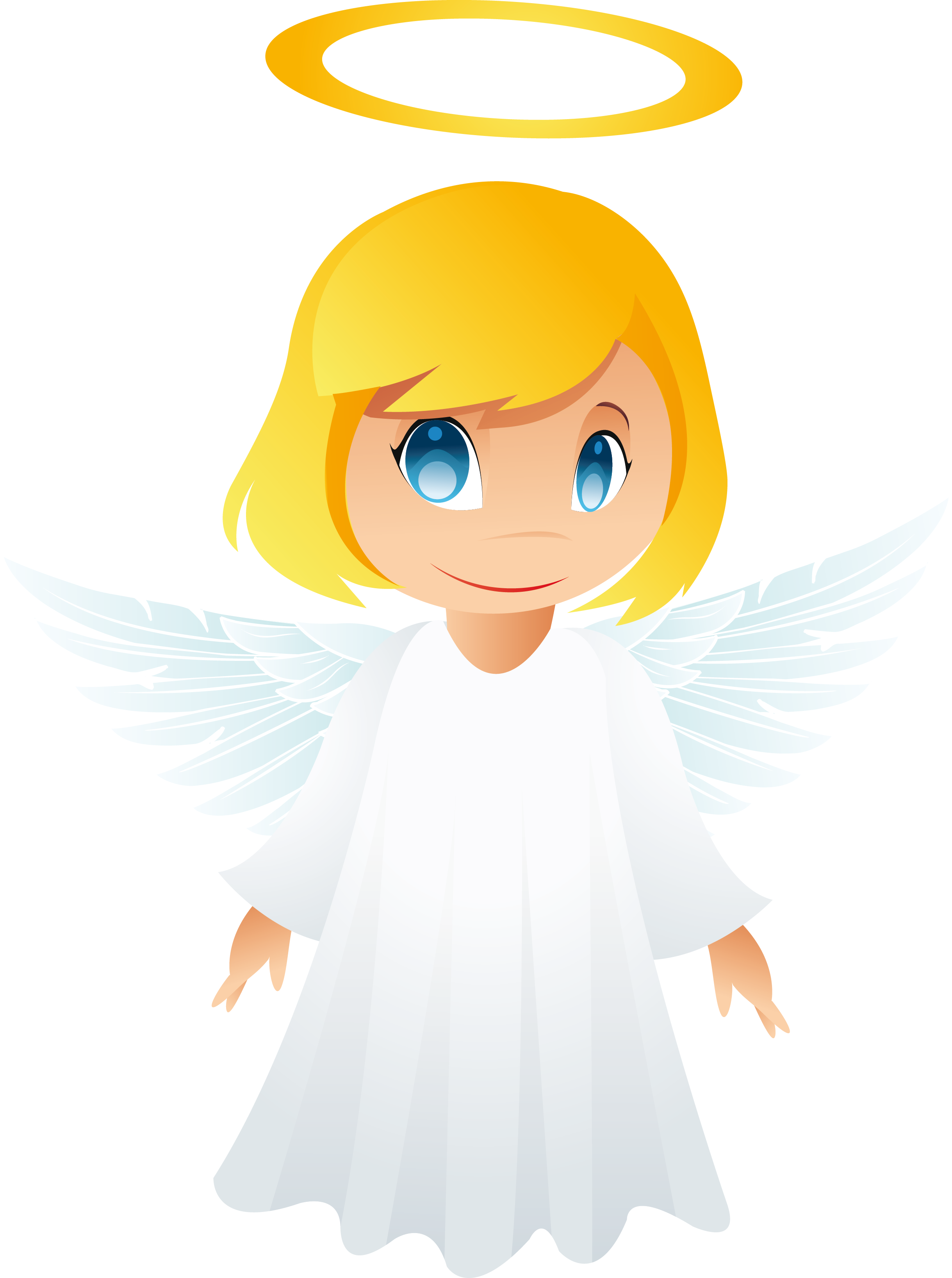 Angels transparent background