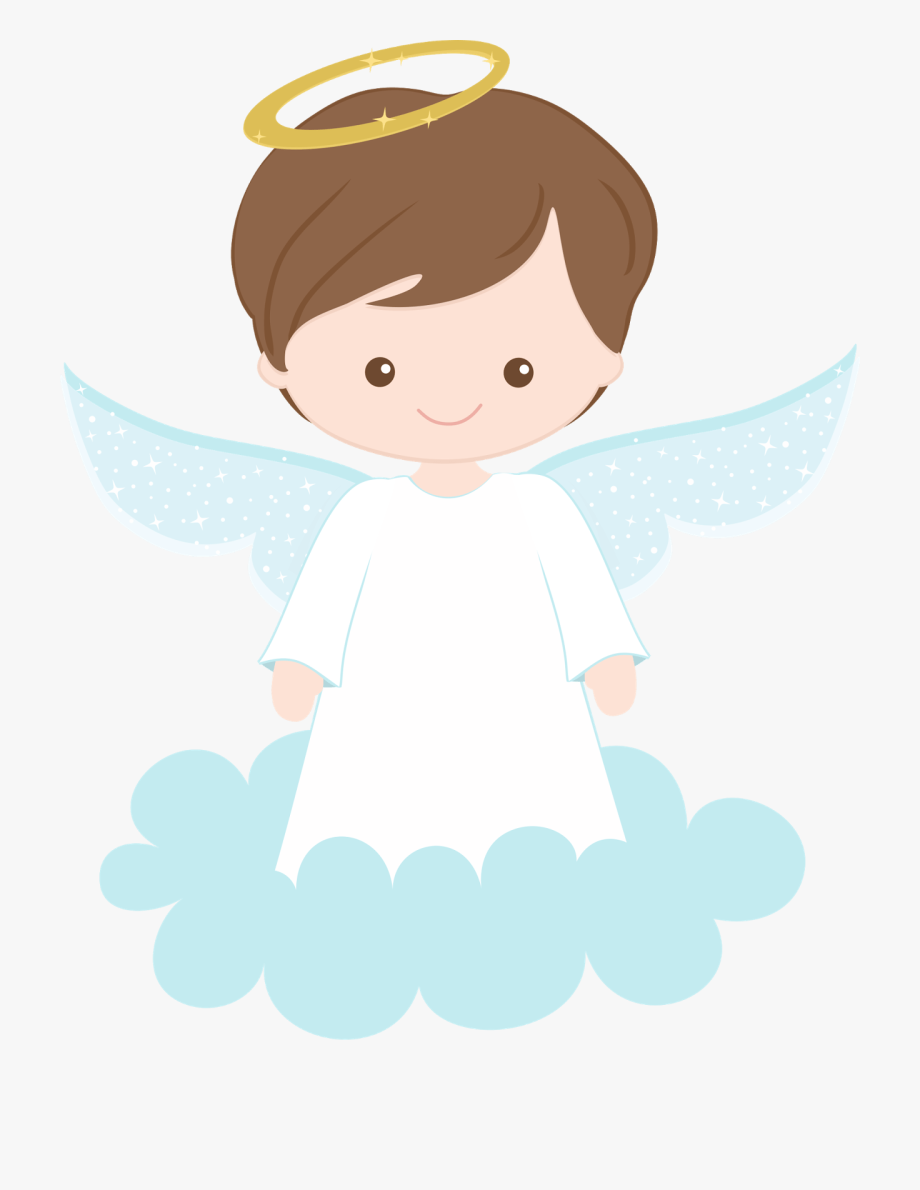 Angel clipart. Christening png boy first