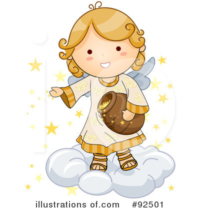 Illustration by bnp design. Angel clipart