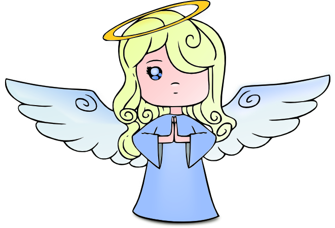 Angel clipart. Free graphics of cherubs