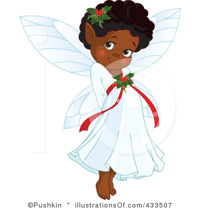 Angel free black and. Angels clipart african american