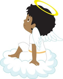 angels clipart african american