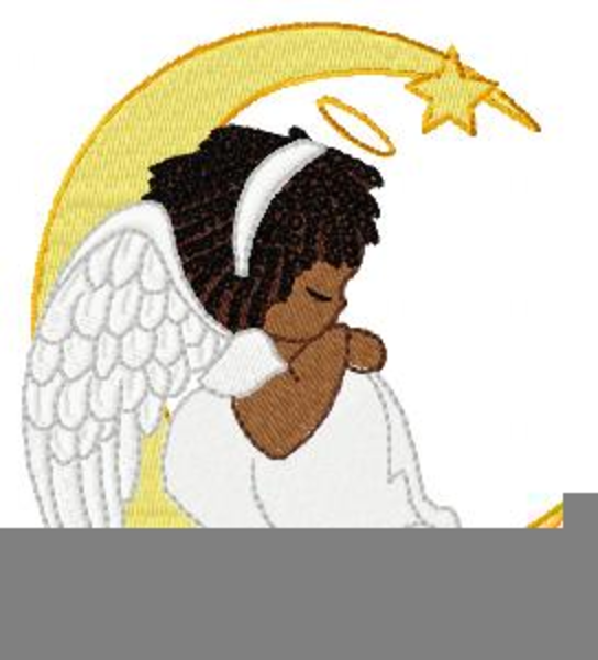 Free angel images at. Angels clipart african american