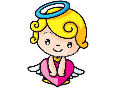 Free cartoon image download. Angel clipart angel face