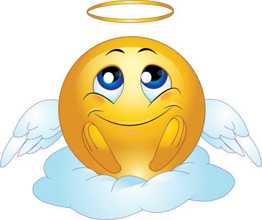 Angel clipart angel face. Clip art male smiley