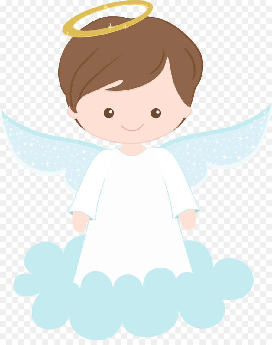 Angel clipart baptism. First communion child clip