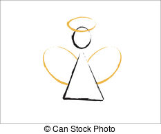 Angel clipart basic. Simple station