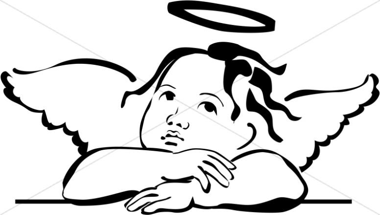 Graphics images sharefaith baby. Angel clipart basic