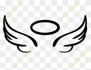 Angel clipart basic. Free png simple wings