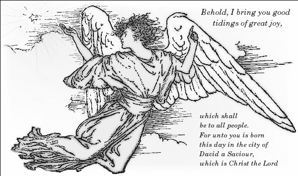 Free christmas public domain. Angel clipart book