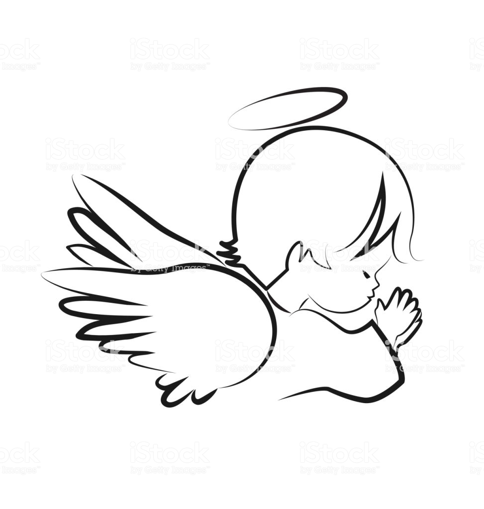 Angel clipart book. For print free images