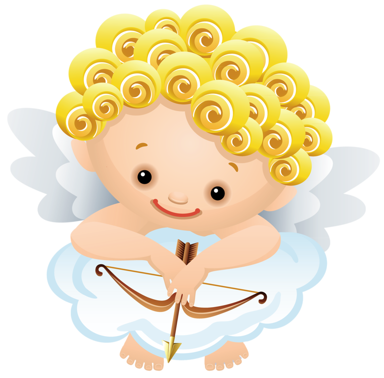 Angel with png by. Bow clipart cartoon