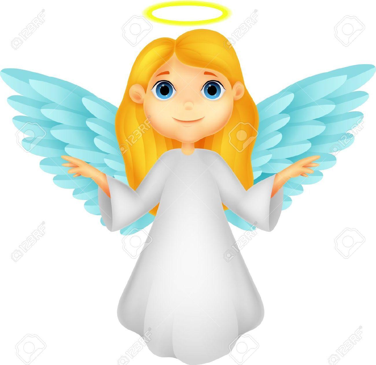 angels clipart cartoon