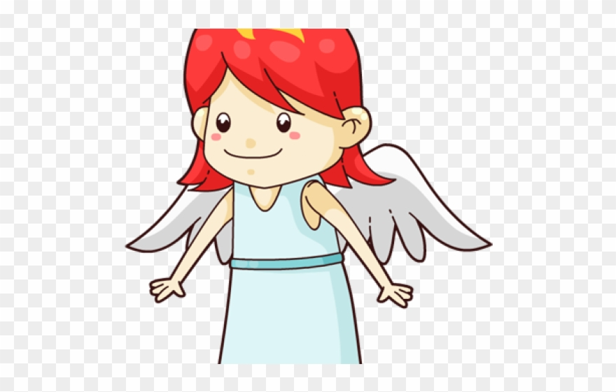 Clipart angel cartoon. Cute clip art png