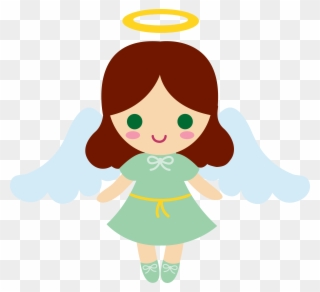 Little full size pinclipart. Angel clipart clear background