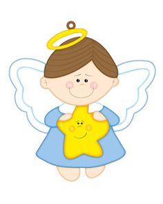 angels clipart cute