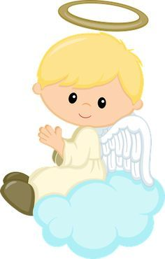 Angel boys cards . Angels clipart first communion