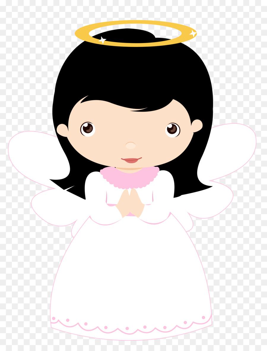 Angels clipart first communion. Angel girl clip art