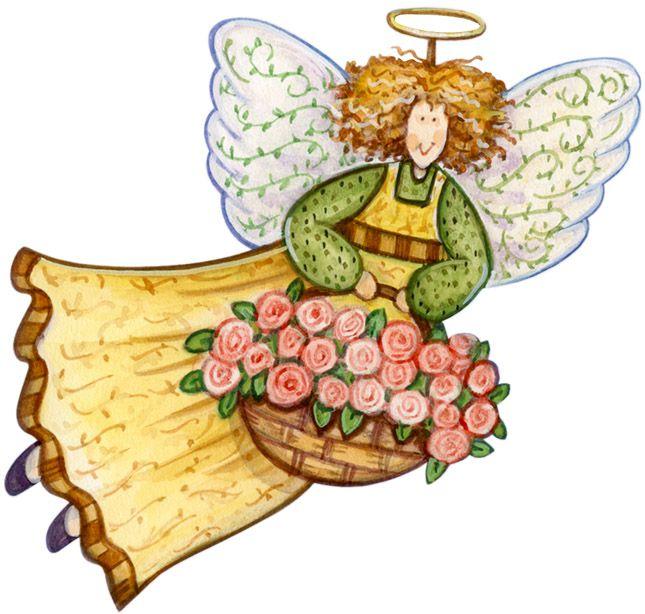 Angel clipart garden.  best angels images