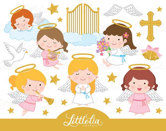 angels clipart heaven