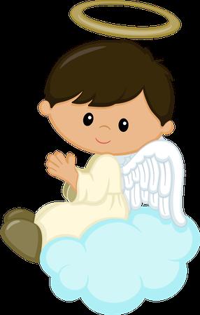 Boys clipart angel. Minus ideas bautizo pinterest