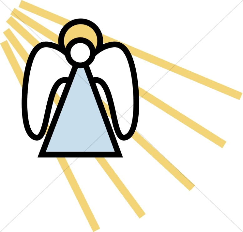 angels clipart simple