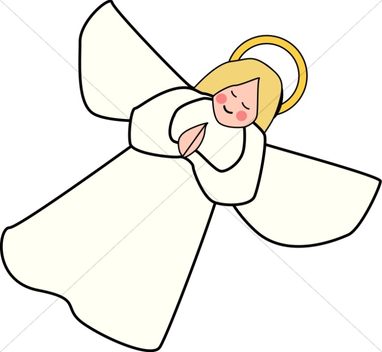 Angel clipart simple. Line art free download