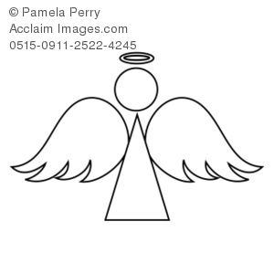 Angel clipart simple. My next tattoo is