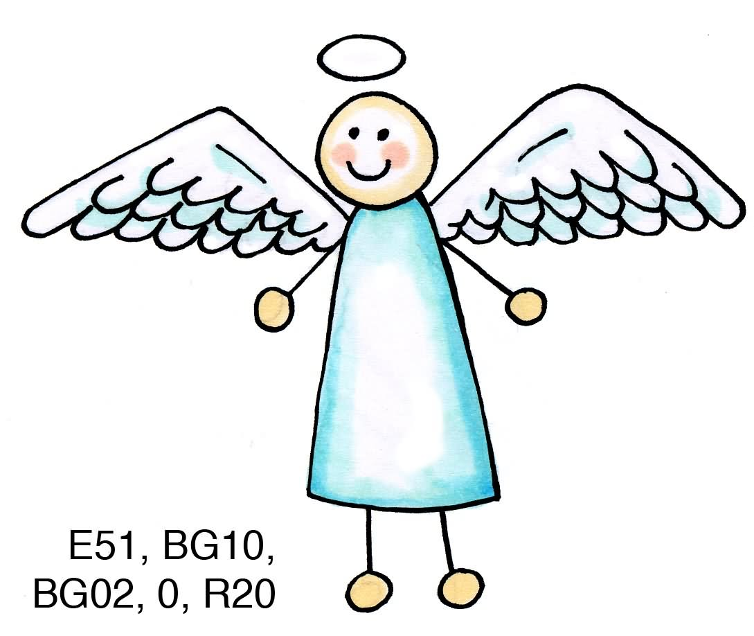 Station . Angel clipart simple