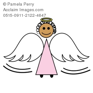 Stock photography acclaim images. Angel clipart simple