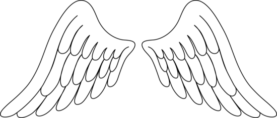 Angel wings vector png. Free wing clip art