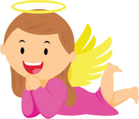 Angels clipart. Free angel clip art