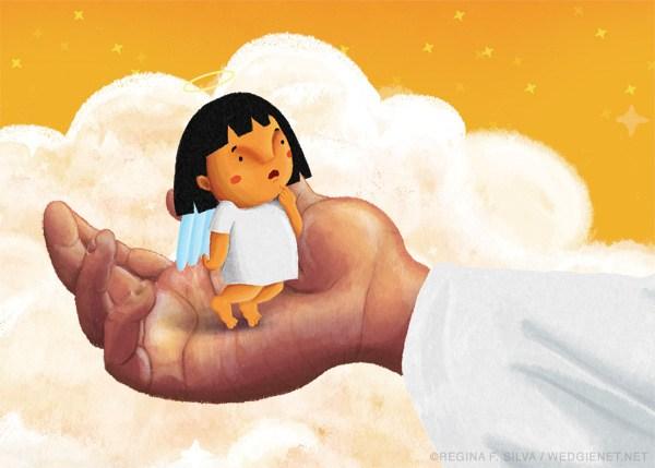 Angels clipart anghel. Illustrator reg silva ang