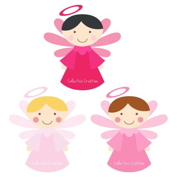 Angels clipart child. Little digital panda free