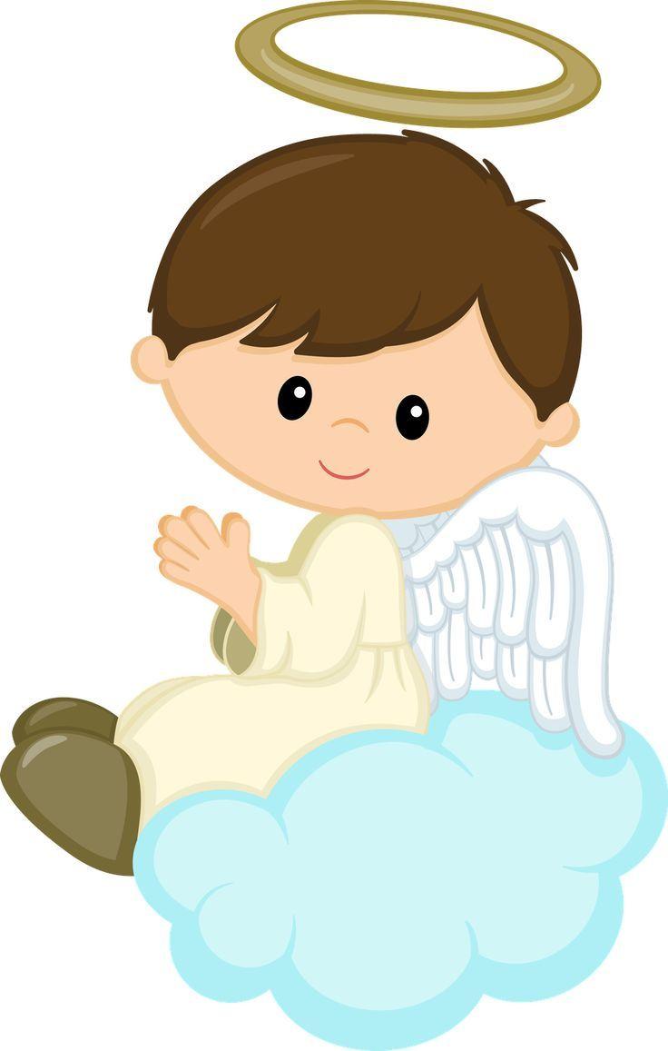 Angels clipart child. Pin by sandrinha almeida