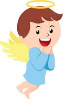 Angels clipart child. Free angel clip art