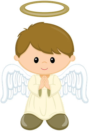 angels clipart child