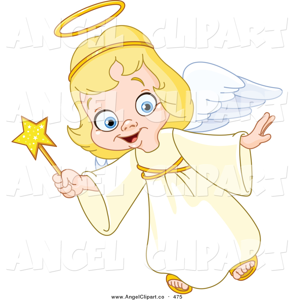 Angels clipart colorful. Angel new stock designs