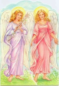 2 clipart angels.  best images on
