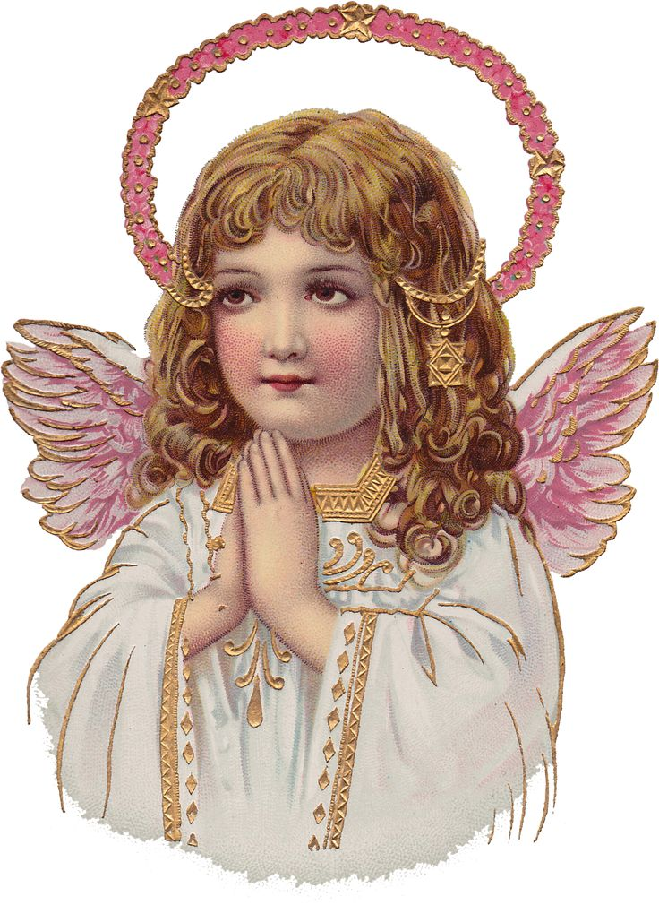 Angels clipart easter. Angel free christmas card