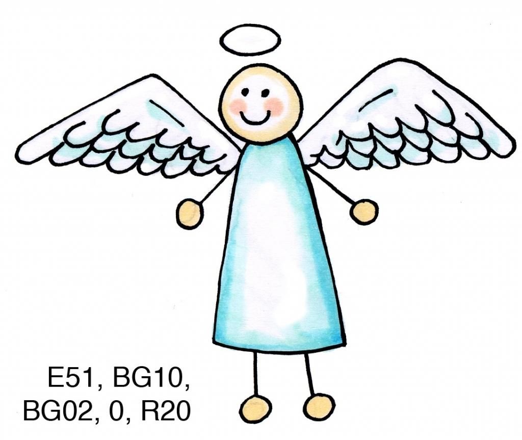 Cartoon drawing at getdrawings. Angel clipart easy
