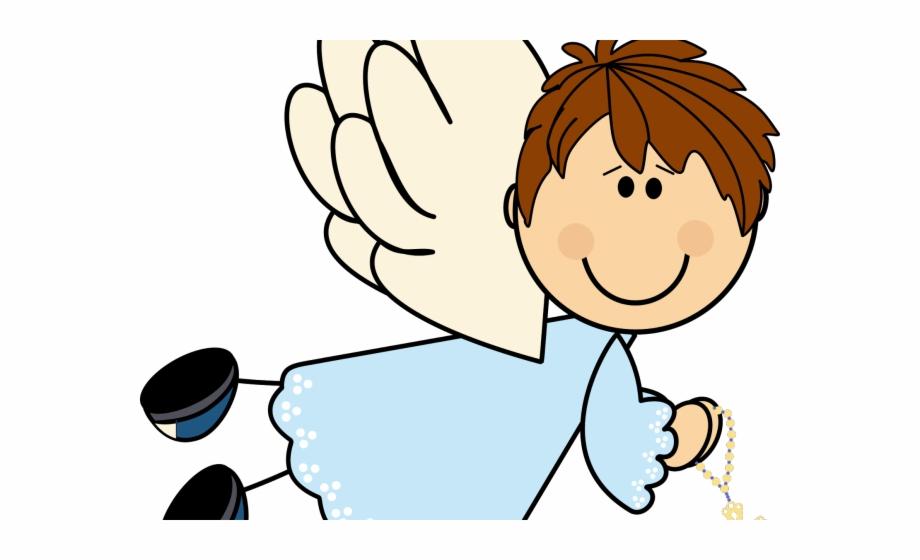 Angels clipart first communion. Boy angel