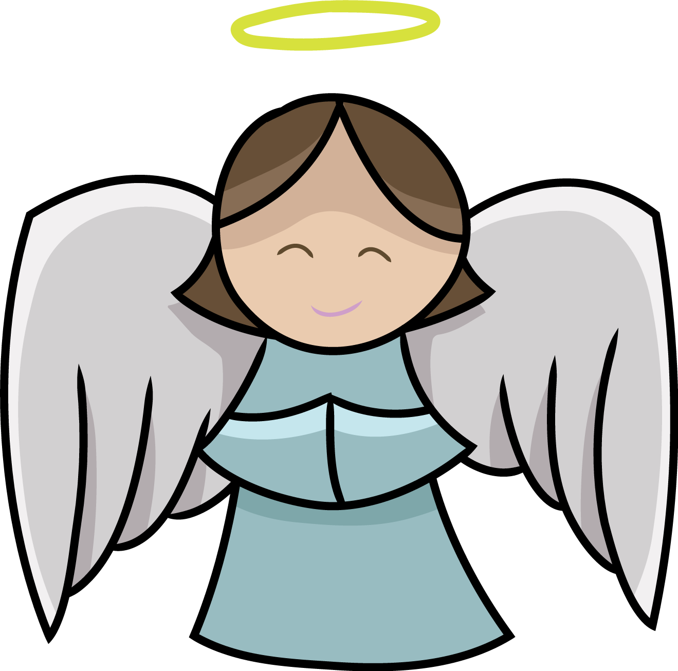 Clip art free cute. Words clipart angel